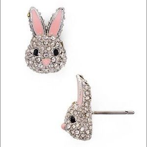 Kate Spade Bunny 🐰 Crystal Earrings